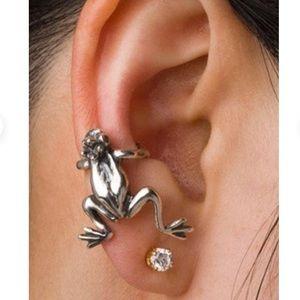 Sterling Frog Ear Wrap